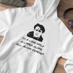 Friends Joey I M A Alone Wolf A Loner Alone All Alone Forever Hoodie