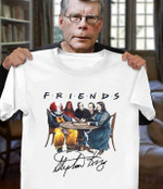 Friends Stephen King Horror Characters Sit Together Signed For Fan