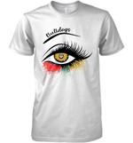 Georgia Bulldogs Glitter Parttern Eye Printed T Shirt Hoodie Sweater