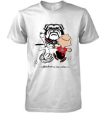 Georgia Bulldogs Snoopy And Charlie Brown Fan