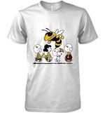 Georgia Tech Yellow Jackets Snoopy And Friends Peanut Fan T Shirt Hoodie Sweater