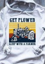 Get Plowed Sleep With A Farmer Agrimotor Vintage Style T Shirt Hoodie Sweater