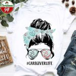 Girl Caregiver Life T Shirt Hoodie Sweater