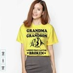 Grandma And Grandson A Bond That Can Be Broken For Lovers T Shirt Hoodie Sweater