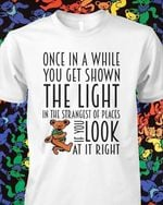 Grateful Dead Once In A While You Get Shown The Light In Strangest Of Places If You Look At It Right T Shirt Hoodie Sweater