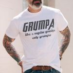 Grumpa Like Regular Grandpa Only Grumpier Grandfather Avengers