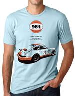 Gulf Porsche Carrera RS 3.8 Liter Coupe T Shirt Hoodie Sweater
