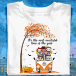 Halloween Monster In Hippie Car It S The Most Wonderful Time Of The Year T Shirt Hoodie Sweater