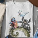 Halloween Monster Lilo Stitch T Shirt Hoodie Sweater
