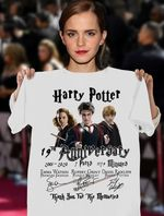 Harry Potter 19Th Anniversary Emma Watson Rupert Grint Daniel Radcliffe Signed For Fan T Shirt Hoodie Sweater
