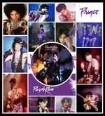 Prince Purple Rain Fleece Blanket Ver 1