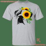 Bulldog Sunflower T-Shirt-Vivianstores