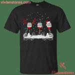 Christmas Red Wine - Merry Xmas T-Shirt-Vivianstores