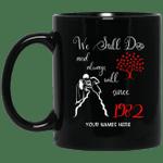 1982 Wedding Anniversary Custom Name Mug We Still Do Black Mug MT01-Vivianstores