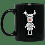 Dasher Dancer Prancer Vixen Tequila Rum Vodka Whiskey Reindeer Christmas Mug-Vivianstores