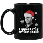 Yippee Ki Yay Mother Fucker Christmas Mug-Vivianstores