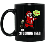 The Stocking Dead Funny Santa Merry Christmas Mug-Vivianstores