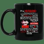 Personalized Snoopy Couples Mug To My Husband Valentine Mug MT12-Vivianstores