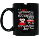 Personalized Snoopy Couples Mug To My Wife Valentine Mug MT12-Vivianstores