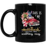 This is my Hallmark Christmas Movie Watching Stitch And Lilo Mug Lovely Gift VA10-Vivianstores