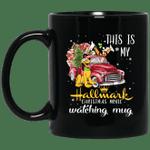 This is my Hallmark Christmas Movie Watching Goofy And Pluto Mug Lovely Gift VA10-Vivianstores