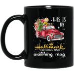 This is my Hallmark Christmas Movie Watching Snoopy And Charlie Brown Mug Lovely Gift VA10-Vivianstores