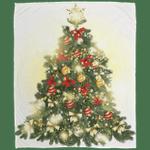 Christmas Tree Micro Fleece Blanket-Vivianstores
