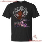 Queens Are Born In May T-Shirt-Vivianstores.com