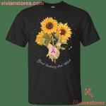 Hodgkin's Cancer Awareness Ribbon Sunflower Tee-Vivianstores