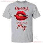 Queens Are Born In May T-Shirt-Vivianstores