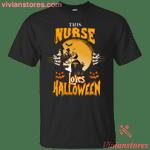 This Nurse Loves Halloween T-Shirt-Vivianstores