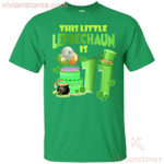 This Leprechaun Is 11 Years Old St Patricks Day T-Shirt LT12