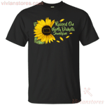 Raised On North Dakota Sunshine Sunflower Vintage T-Shirt KA12