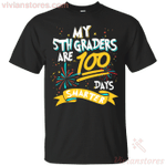My 5th Graders Are 100 Days Smarter Funny T-Shirt