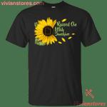 Raised On Utah Sunshine Sunflower Vintage T-Shirt KA12