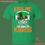 Kiss Me I Was Born In November St Patrick's Day T-Shirt LT12