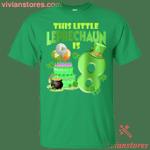 This Leprechaun Is 8 Year Old St Patricks Day T-Shirt LT12