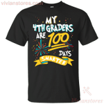 My 4th Graders Are 100 Days Smarter Funny T-Shirt