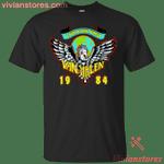 Light Up The Sky Tour Of The World Van Halen 1984 T-Shirt KA12