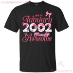 Since January 2002 Born To Be Awesome T-Shirt