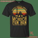Middle Earth's Annual Mordor Fun Run Vintage T-Shirt