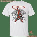 The Queen Freddie Mercury Deadpool Light Color T-Shirt