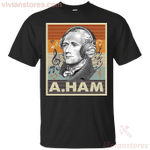 Hamilton and Headphone Gift For Fans T-Shirt