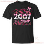 Since January 2007 Born To Be Awesome T-Shirt