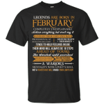 Legends Are Born In February Vintage Perfectly T-Shirt