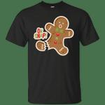 Gingerbread Man Oh Snap Christmas Cute T-Shirt