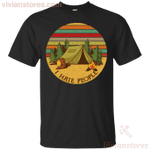 I Hate People Funny Camping Vintage T-Shirt