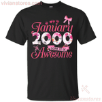 Since January 2000 Born To Be Awesome T-Shirt