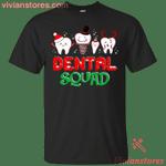 Dental Squad Tooth Merry Christmas T-Shirt