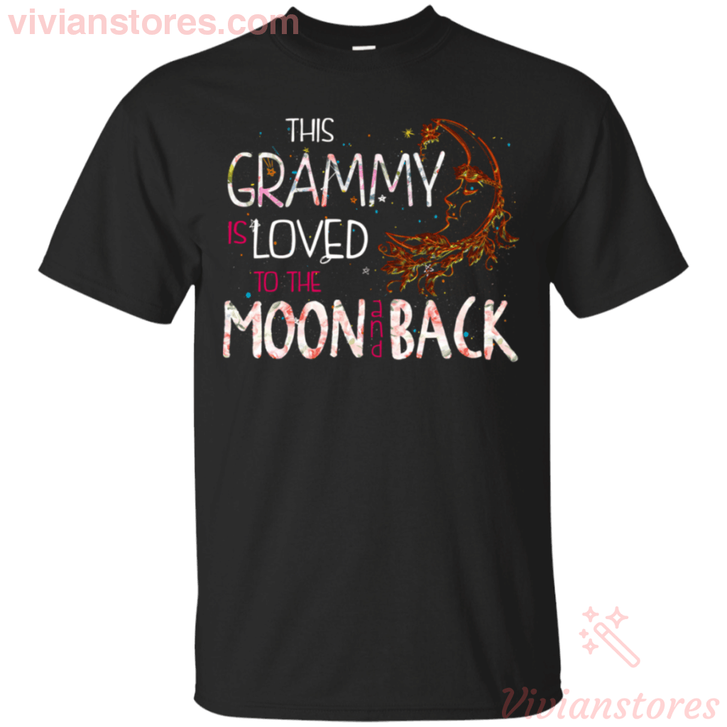 This Grammy Is Loved To The Moon And Back T-Shirt